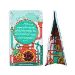 Imballaggio per alimenti di Compostabel di alluminio del di caffè del chicco del sacchetto di plastica su ordinazione della chiusura lampo