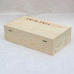 سعر تنافسي عالية الجودة مخصصة هدية خشبية صندوق التعبئة