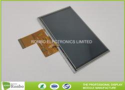 옥외 높은 광도 800 x 480의 5개 인치 저항하는 접촉 IPS LCD 스크린 모듈