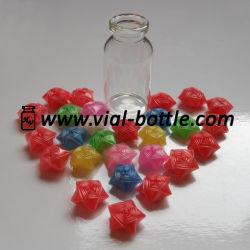 Doblado de paja de la botella de plástico de Lucky Stars (HVGB009)