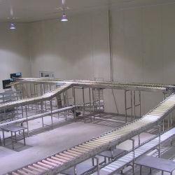 Rituel ligne abattage des bovins de boucherie de vache de l'Abattoir de machines avec