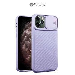 Luxus TPU Rückabdeckung Kamera Schutz Objektiv Schiebefenster Telefon Tasche für iPhone 12 /12 pro/SE