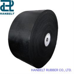 Transportband met rubberstof Polyesterband voor bulkmateriaaloverslag
