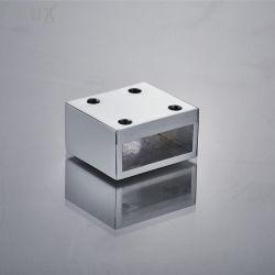샤워실까지 벽 연결 징크 합금 파이프 커넥터 엔클로저 고정 장치 바