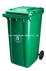 240L Poubelle Prix de vente en plastique contenants à ordures poubelle en plastique avec des roues