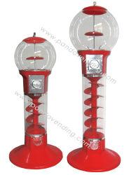 Giocattolo a spirale della capsula, sfera rimbalzante & distributore automatico di Gumball (TR701 & TR702)