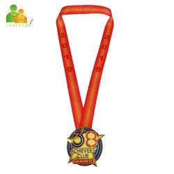 Großhandel Full Color Logo gedruckt Lanyard Ribbons für Medaille