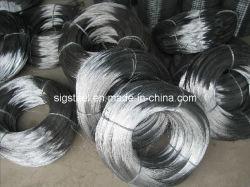 حلفنة زنبركية الصلب سلك الصلب Galvanzied Steel Wire