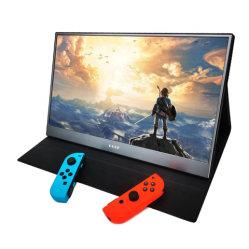 A fábrica de Venda Directa, 15,6 polegadas 1080P IPS portátil com LCD Monitor de jogos para PS4/PS5/Switch/xBox/Laotop visor OLED