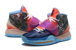 Owen 6 Laarzen van het Gevecht van de Handtekening van de Generatie Gloednieuwe voor BinnenVrije tijd die Basketbalschoenen 8003#Nik_E in werking stellen