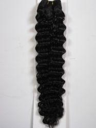 5A+класса 100% индийского Реми Virgin глубокий занос человеческого волоса Weft