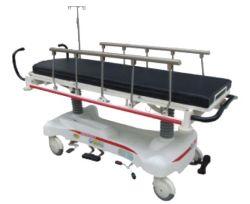 سرير نقل المريض في المستشفى تمدد طارئ يدوي ترولي المستشفى