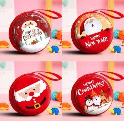 Venta caliente manchas de las decoraciones de Navidad se presenta a los niños de cero Wallet entrañable Santa Claus caricatura regalo Monedero pequeño puede personalizarse en stock
