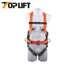 Hot Polyater de sauvetage de vente du harnais de sécurité avec boucles
