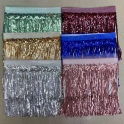 Оптовая торговля Paillette пайетками кружева челкой Tassel для танцев Dresss