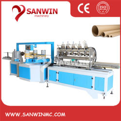 Drie-koppen Multi Cutters Paper Tube Core Making machine