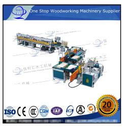 Finger Joint automática completa línea de producción (tenon shaper/pegar/tenon jointer) Madera automático línea de maquinaria de madera finger joint