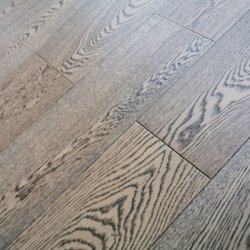 Fio de grãos de café escovado preto Brwon Oak Engineered Wood Flooring
