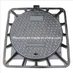 En124 ковких чугунных крышки люка (850x850мм) (DN600)