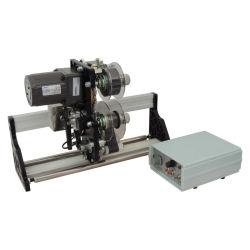 طباعة عدة خطوط ملونة للشريط الملون Satin Hot Print بالخطوط المتعددة HP-241g Hualian ماكينة ترميز الكود
