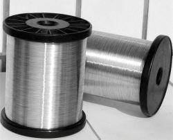 Electro alambre galvanizado de 0,13 mm para hacer la limpieza Scourer Ball