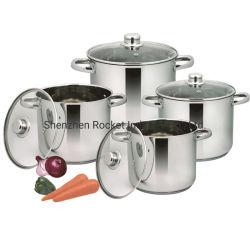 Venda por grosso de grande preço de fábrica de Aço Inoxidável Cozinhar sopa Pot Stock Pot