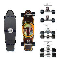 Popular Skate Skate Maple Skateboard CX4 para desporto ao ar livre Prancha com o Surfskate de prancha com quatro rodas