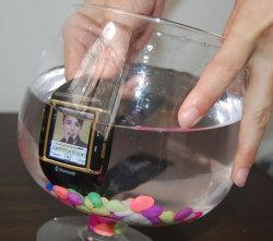 Resistente al agua reloj teléfono (W600)