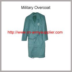 الجملة جيش الصين الرخيص Wool Acrylic الشرطة العسكرية تغلي غGreatrمعطف