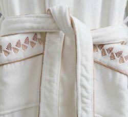 Vente chaude Unisex White Hotel 100% coton Terry peignoir de bain