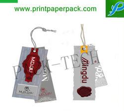 شعار منقوش ورق علامة يد مطبوع على ورق علامة معلقة