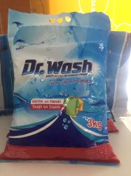 Alto detersivo del detersivo di lavanderia della gomma piuma dell'OEM 3kg, 6kg
