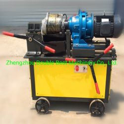 Rebar Thread Rolling machine Steel Rod Rib Peeling en Parallel Schroefdraadrolmachine