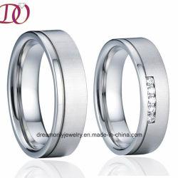 新しい方法工場卸売の純粋なチタニウムのリングの結婚指輪