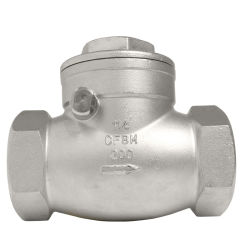 Commerce de gros ANSI DN40-DN200 Clapet en acier inoxydable