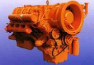 Refroidi par air 8 cylindres 4 temps moteur diesel Deutz (F8L413F)