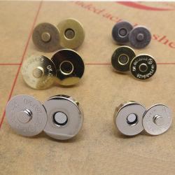 Магнитные кнопки для мешков с помощью