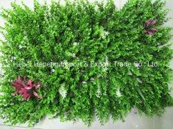 Césped artificial que se pueden utilizar para decorar paredes