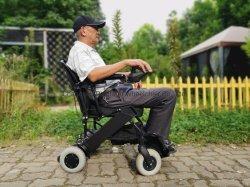 옥외 실내 여행 알루미늄 Blushless Moto 경량 힘 겹 불리한 세륨, ISO13485, ISO9001를 위한 전기 휠체어