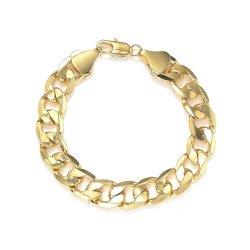 De Armband van de Ketting van het Messing van de manier/de Juwelen van Igold Platting/de Gift van Mannen/de Gift van Vrouwen