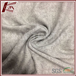 100% cinzento impressas de seda 12mm tecido de seda pura