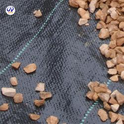 La agricultura tejida PP el control de malezas Mat Anti-Grass tela cubierta de tierra para la venta