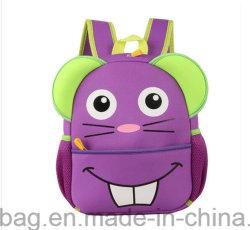 Formas animais Kids mochila escolar em neoprene para crianças