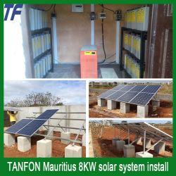 Установите off Grid дома солнечных батарей генератором мощность системы для производства электроэнергии дом Sp300W-SP30квт