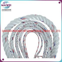 Bonne qualité Twisted PP/PE/corde en nylon 3strand/4strand/8strand Polypropylène/corde en plastique polyéthylène, PP PP Danline Tali pour la pêche