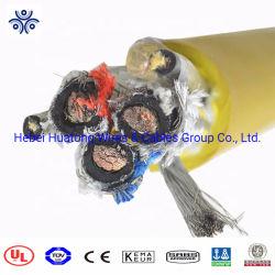 Экранированный металлик, резиновые пламенно Mobile гибкий кабель добычи полезных ископаемых