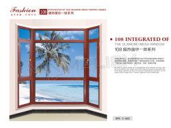금속 손잡이를 가진 집 훈장 알루미늄 Windows 또는 여닫이 창 또는 조정 Windows