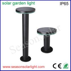 A luz economizadora de energia da fábrica Alu. LED de exterior material Luz Jardim Solar com bateria de LiFePO4 & 5W Painel Solar