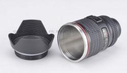 Aço inoxidável criativos personalizados Lente da câmera Cup para a promoção