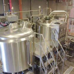 1000L de commerciële Gebruikte Apparatuur van het Bierbrouwen van het Roestvrij staal automatisch